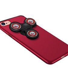 Reiko Hand Spinner PC Case Cover For Apple iPhone 7 plus with Removable Fidget S