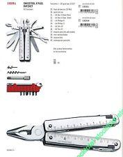 Navaja victorinox swisstool X PLUS RATCHET 40 FUNCIONES   3.0339.L 19