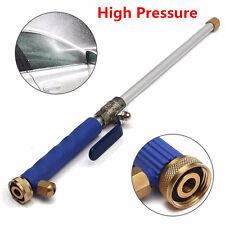 Aluminium High Pressure Power Car Washer Spray Nozzle Water Gun Hose 46cm/18''