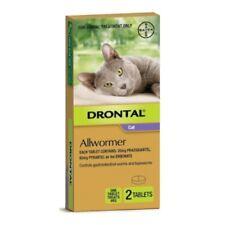 Drontal Cat Allwormer 4kg 2 Tablets Cat Cats Pet Pets
