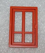 """Playmobil Puppenhaus  """" Fenster Rotbraun   """"  Top zustand   ( 5301 )"""