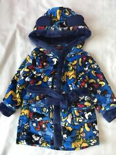 Bnwt BABY BOYS Disney Mickey Mouse Bath Robe/Dressing Gown Size 12-18 months