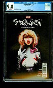 Spider-Gwen #24 1st Appearance of Gwenom Marvel, 2017 CGC 9.8 1st Print
