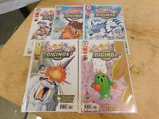 DIGIMON DIGITAL MONSTERS #1-3, 6, 7 (DARK HORSE/2000/TV SHOW) Comics