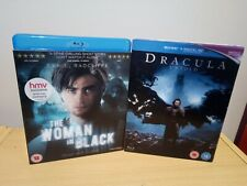 Dracula Untold & The Woman In Black Blu Ray UK Release w/ Lenticular Slip Cases