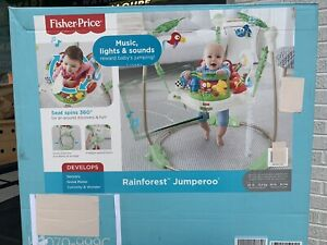 Fisher- Rainforest Jumperoo Baby Activity Jumper - Model K6070 -