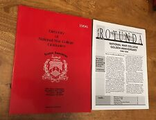 Military, National War College, Directory of Graduates, 1996, Genealogy