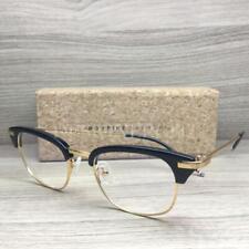 c13d6f67c71d ROYFIRE New York RFO 028 16 Eyeglasses Black Gold C02 Authentic 51mm