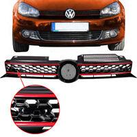 VW Golf VI 6 GTi Look Kühlergrill ohne Emblem Grill Sportgrill Bj. 08-12