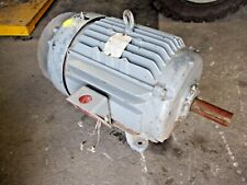 Baldor 20 Hp Motor Fr 256t 3525 Rpm 208 230460 V 3 Ph 620155j Used