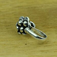 Flower Silver Plated Mixed Metal Nose Pin Body Fashion Jewelry VFJ932