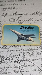 VTG JET AGE 85 SILVER EYE Needle Book Rust Proof Sewing Notion Japan Souviner