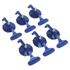 Suction Clamp Set 6pc SEALEY RE006 by Sealey