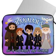 Personalised Laptop Cover HARRY Sleeve Wizard Universal Case Gift KS160