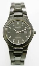 Kenneth Cole Mens Watch Stainless Gunmetal Water Resist 100m Battery Date Quartz