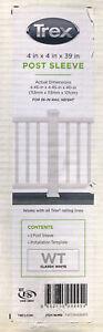 Trex 4 x 4 x 39 Post Sleeve CLASSIC WHITE