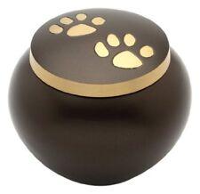 Urns UK Chertsey Urne Funéraire pour Animal Domestique 10 cm Brun