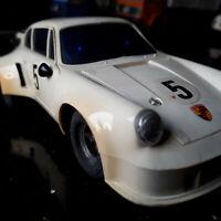 """MODELLAUTOS CARRERA UNI UNIVERSAL """"PORSCHE 911 RSR mit Motorgeräusch""""   gepflegt"""
