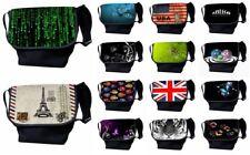 "LUXBURG® 14"" Inch Luxury Design Laptop Notebook Messenger Shoulder Strap Bag"