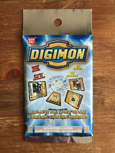 Digimon Cards Booster Pack English Series 1 BRAND NEW