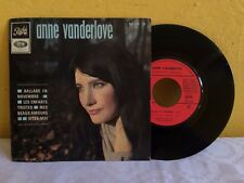 "ANNE VANDERLOV BALLADE EN NOVEMBRE FRENCH 7"" EP PS CHANSON"