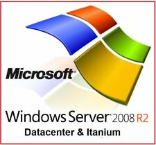 WINDOWS SERVER 2008 R2 Datacenter & Itanium - Cheapest on EBAY
