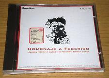 Homenaje a Federico AA.VV. Garcia Lorca Musica e Poesia CD il Manifesto 1997