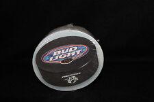 NHL Nashville Predators Hockey Puck Bud Light Beer Mat Cocktail Bar Coasters 50