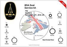 BSA Coyote & Buccaneer Full Service SEAL KIT 0.177, 0.22 & 0.25