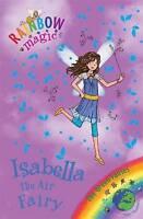 Isabella the Air Fairy (Rainbow Magic) by Daisy Meadows, Good Used Book (Paperba