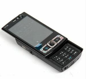 NEW Condition Nokia N95 8GB Black Slide (Unlocked) Mobile Phone + Warranty