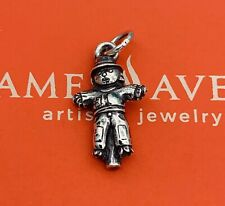 James Avery Vintage & Very Rare Retired Sterling Silver Scarecrow charm EUC