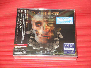 DREAM THEATER DISTANT MEMORIES LIVE IN LONDON w/ BONUS TRACK JAPAN 3 CD EDITION