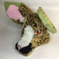 Fursuit Head Furry Canine African Wild Dog Hyena Wolf Semi Realistic Unfinished