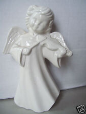 """Vintage Angel By Shirley Playing Music 8"""" Tall Good Condition"""
