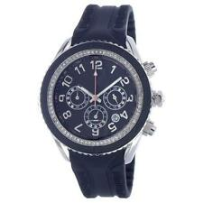 ORIGINAL T10 MARACUJA WATCH IN SILICON , 3 SPHERES AND STRASS , T10-C010N BLACK