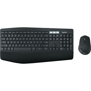 Logitech Combo Wireless Bluetooth USB Keyboard and Optical Mouse MK850