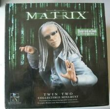 The Matrix Twin #2 Two Statue Bust ~ Gentle Giant Limited Edition /6000 New NIB