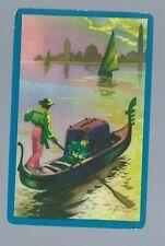 1 Genuine Vintage Swap Playing Card  Venice