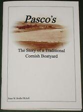 CORNISH BOATYARD HISTORY West Cornwall Roseland St Just Boat Ship Building Pasco