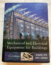 Mechanical Electrical Equipment for Buildings, 9th Edition;B Stein, J Reynolds