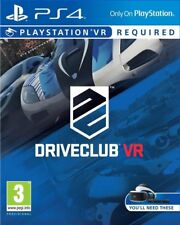 DRIVECLUB VR JEU PS4 NEUF