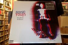 Sonic Youth NYC Ghosts & Flowers LP sealed vinyl + mp4 download RE reissue