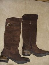ARTURO CHIANG WOMEN'S BOOTS, 8M STYLE AT-VALAW, DK BROWN, MONTICELLO NEW W BOX!