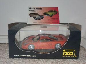 1:43 IXO Saleen S7 in Metallic Orange 2002