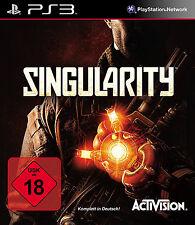 Singularity für Playstation 3 PS3 | NEUWARE | KOMPLETT IN DEUTSCH!
