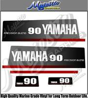 YAMAHA 90hp - PRECISION BLEND - OUTBOARD DECALS