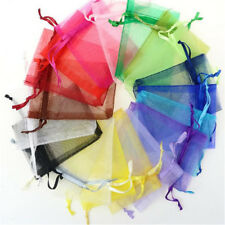 SET OF 20 Jewelry Bags MIXED Organza  Easter Wedding Party Xmas Gift Bags