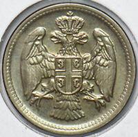 Serbia 1917 10 Para Eagle animal 192729 combine shipping