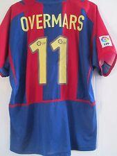 Barcelona 2002-2003 Overmars 11 Hogar Camiseta De Fútbol Talla XL/41590